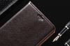 """Nokia Lumia 640 оригинальный кожаный чехол книжка из НАТУРАЛЬНОЙ ТЕЛЯЧЬЕЙ КОЖИ противоударный """"CLASIC SET, фото 4"""