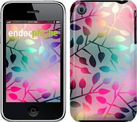 """Чехол на iPhone 3Gs Листья """"2235c-34"""""""