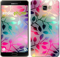"""Чехол на Samsung Galaxy A9 A9000 Листья """"2235u-107"""""""