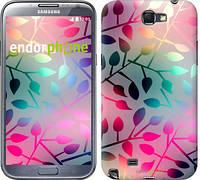 "Чехол на Samsung Galaxy Note 2 N7100 Листья ""2235c-17"""