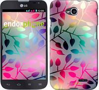 """Чехол на LG L70 Dual D325 Листья """"2235u-201"""""""
