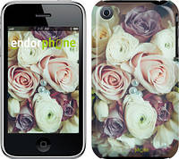 "Чехол на iPhone 3Gs Букет роз ""2692c-34"""
