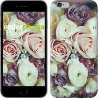 """Чехол на iPhone 6 Plus Букет роз """"2692c-48"""""""