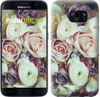 "Чехол на Samsung Galaxy S7 G930F Букет роз ""2692c-106"""