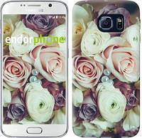 "Чехол на Samsung Galaxy S6 G920 Букет роз ""2692c-80"""