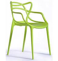 Стул Masters Chair, зеленый пластик PP, дизайнPhilippe Starck