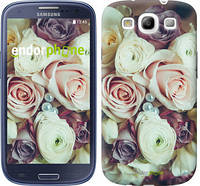"Чехол на Samsung Galaxy S3 Duos I9300i Букет роз ""2692c-50"""