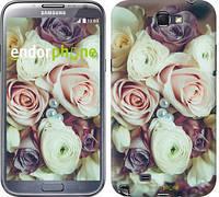 "Чехол на Samsung Galaxy Note 2 N7100 Букет роз ""2692c-17"""