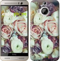 "Чехол на HTC One M9 Plus Букет роз ""2692u-134"""