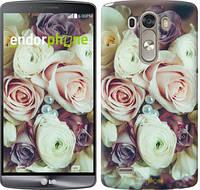 "Чехол на LG G3 dual D856 Букет роз ""2692c-56"""