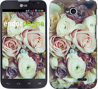 """Чехол на LG L70 Dual D325 Букет роз """"2692u-201"""""""