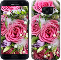 "Чехол на Samsung Galaxy S7 G930F Нежность ""2916c-106"""