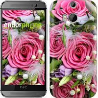 "Чехол на HTC One M8 dual sim Нежность ""2916c-55"""