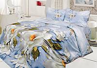Хлопковое постельное белье полуторное