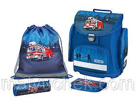 Ортопедический школьный ранец Herlitz Midi Plus TRUCK (6385789302)