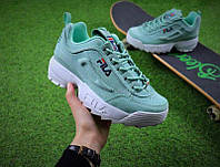 "Кроссовки Fila Disruptor 2 ""Mint/White"""