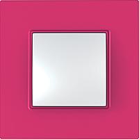Рамка Schneider-Electric Unica Quadro 1-пост Lipstick MGU4.702.27
