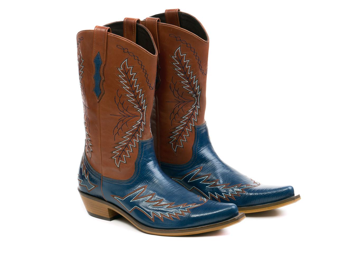 Казак Etor 6618-884 43 коричнево-синие