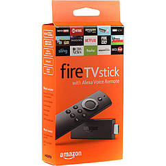 "Медиаплеер Amazon Fire TV Stick with Alexa Voice Remote ""Over-Stock"""