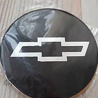 Наклейка эмблема на колпаки Chevrolet 90 мм (4 шт.)