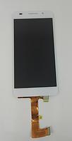 Оригинальный дисплей (модуль) + тачскрин (сенсор) Huawei Honor 6 H60-L02 (белый цвет), фото 1