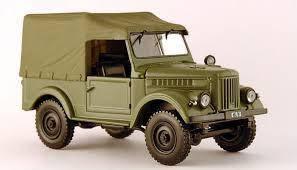 Модель Автолегенды СССР Лучшее (DeAgostini) №15ГАЗ-69 (1:43)