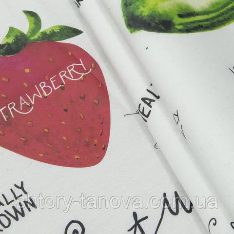 Водоотталкивающая ткань, ягоды и фрукты