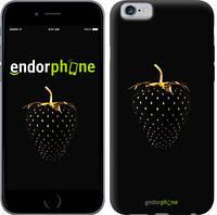 """Чехол на iPhone 6 Черная клубника """"3585c-45"""""""