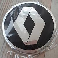 Наклейка эмблема на колпаки Renault 90 мм (4 шт.)