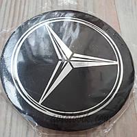 Наклейка эмблема на колпаки Mercedes 90 мм (4 шт.), фото 1
