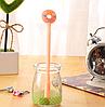 Ручка гелевая Пончик персиковый, фото 2