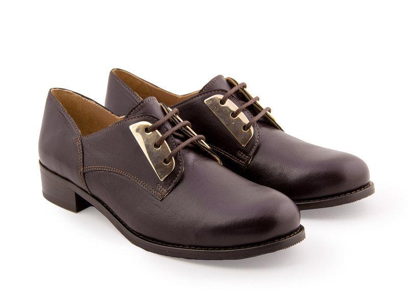 Дерби Etor 5090-6173-1 41 коричневый