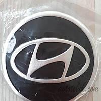 Наклейка эмблема на колпаки Hyundai 90 мм (4 шт.), фото 1