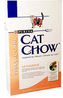 """Cat Chow (Кэт Чоу) Сухой корм для кошек с чувствительным пищеварением """"Cat Chow Special Care Sensitive"""" 1.5 кг"""