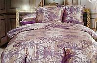 Комплект постельного белья из жаккард + полисатин (евро размер)