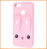 Чехол-накладка TPU Rabbit для Xiaomi Mi A1 / Mi 5X Pink