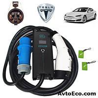 Зарядное устройство для электромобиля Tesla Model S Zencar J1772 32A