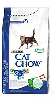 "Cat Chow (Кэт Чоу) Сухой корм для кошек  3 в 1 ""Cat Chow Special Care Feline "" 400 г"