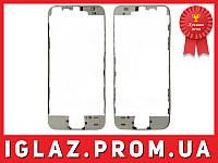 Рамка для дисплея iPhone 5S (для модуля) белая