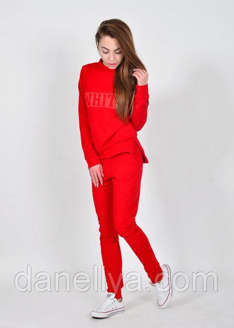 9c34878cb16e4d Жіночий спортивний костюм батник+брюки трикотаж двунитка , цена 490 грн.,  купить Івано-Франківськ — Prom.ua (ID#680323249)