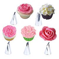 Набор насадок кондитерских №3 для розы