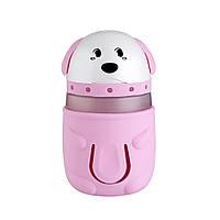 Увлажнитель воздуха SUNROZ Doggie Портативный увлажнитель воздуха Песик, LED, USB, 165 мл Розовый (SUN0294)