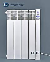 Электрический радиатор (электрорадиатор) ОптиМакс ELITE - 4 секции - 480 Вт