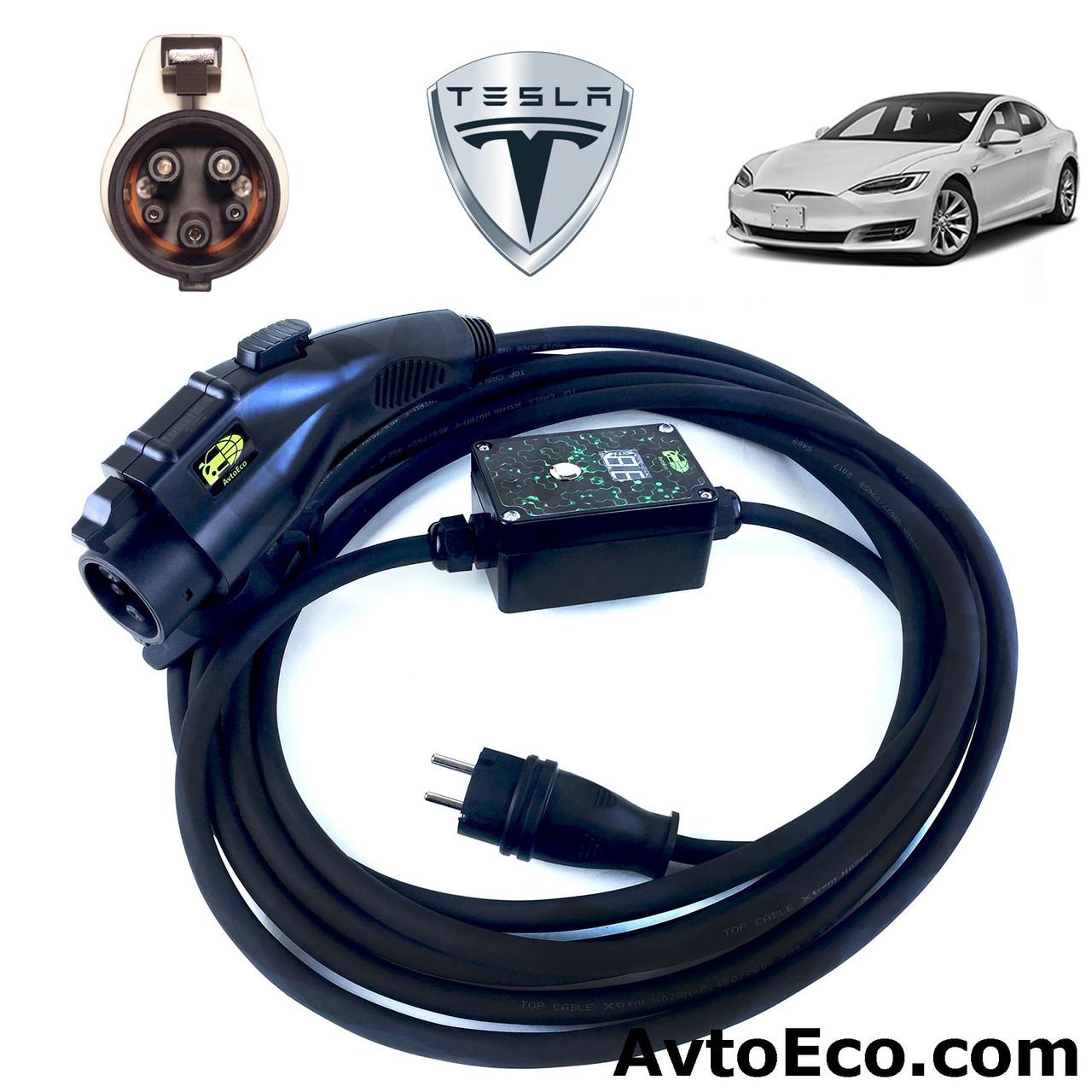 Зарядное устройство для электромобиля Tesla Model S AutoEco J1772-16A-BOX