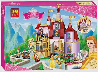 """Конструктор Bela Disney 10565 """"Заколдованный замок Белль"""" 376 деталей."""