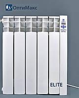 Электрический радиатор (электрорадиатор) ОптиМакс ELITE - 5 секции - 600 Вт
