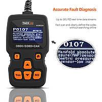 Диагностический сканер TACKLIFE AOBD2A Усовершенствованный