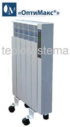 Электрический радиатор (электрорадиатор) ОптиМакс ELITE - 6 секций - 720 Вт, фото 2