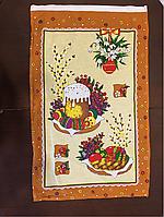 Кухонное полотенце пасхальное льняное