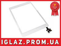 Тачскрин iPad mini 2 (сенсорное стекло Touchscreen) БЕЛЫЙ кнопка HOME + коннектор